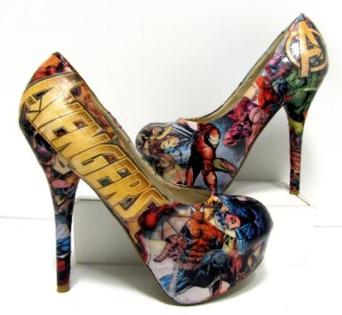 book shoes