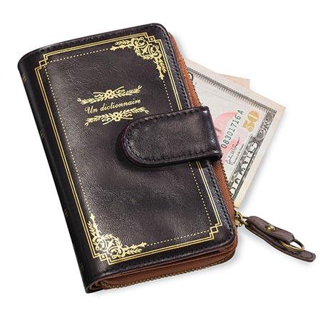 book wallet