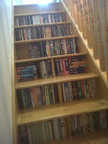 clever book storage ideas
