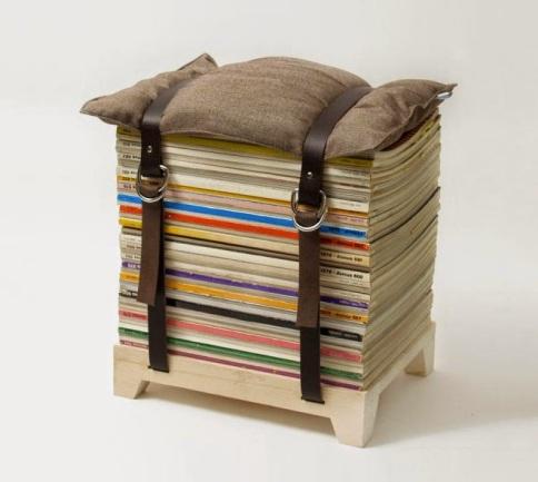 make a footrest