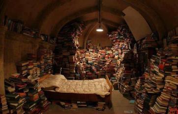 book hoarding