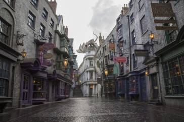 Today, Universal Orlando announced that The Wizarding World of Harry Potter – Diagon Alley will officially open on July 8 – allowing guests to experience even more of Harry Potter's adventures in an all-new, magnificently-themed environment. Located in the Universal Studios Florida theme park, The Wizarding World of Harry Potter - Diagon Alley will feature shops, dining experiences and the next generation thrill ride, Harry Potter and the Escape from Gringotts. The new immersive area will double the size of the sweeping land already found at Universal's Islands of Adventure, expanding the spectacularly themed environment across both Universal theme parks – and guests can journey between both lands aboard the Hogwarts Express. For additional information, visit www.UniversalOrlando.com/WizardingWorld.