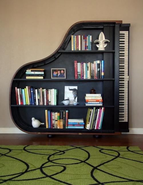 bookshelf piano 9
