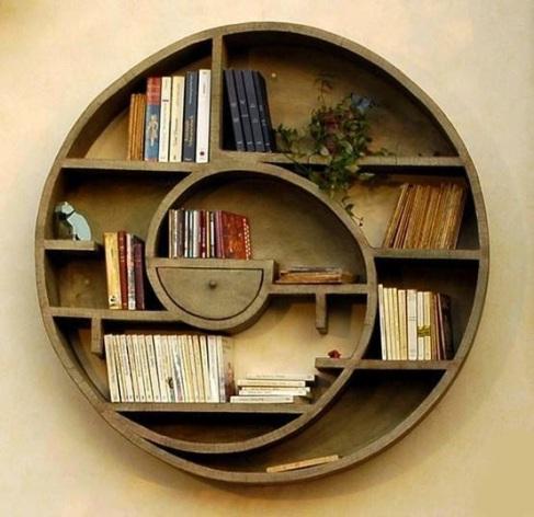 bookshelf swirly 7
