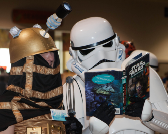star wars reading graphic novel