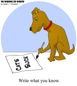 write what you know