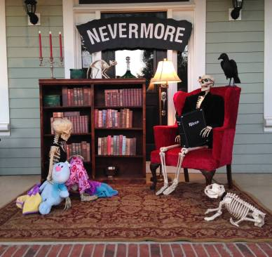 skeletons reading