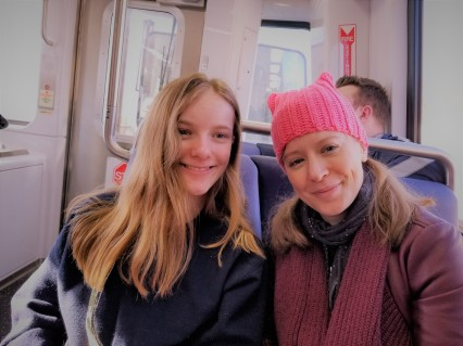 Ella and K on train.jpg