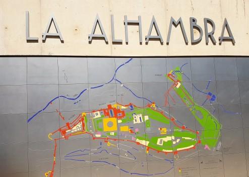 alhambra sign