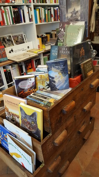 Madrid bookstore