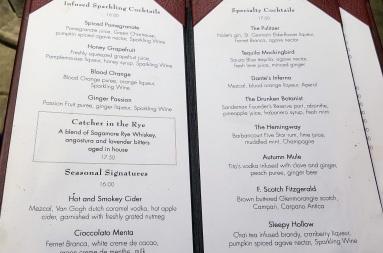 bookmarks menu library hotel