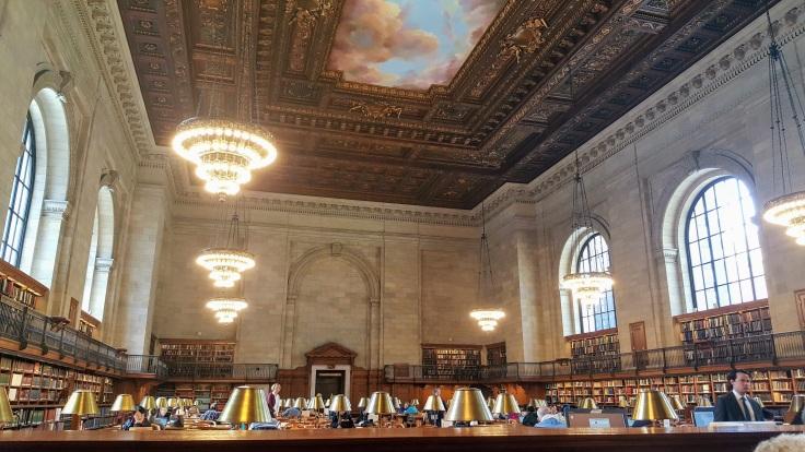 nyc interior library