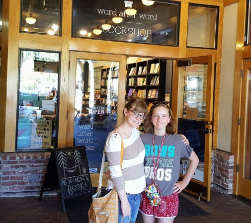 ella and K word after word bookstore truckee