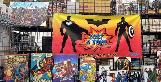 comic con comic stall