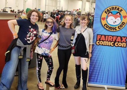 Group comic con pic
