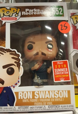 ron swanson pop figure