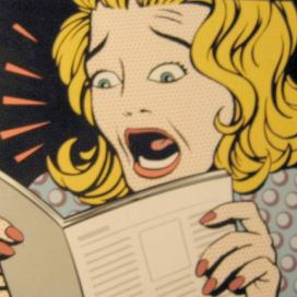 scared_reading_cartoon_woman