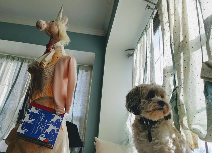 bookmas unicorn and cupcake