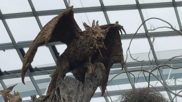 dragon perch flower dome