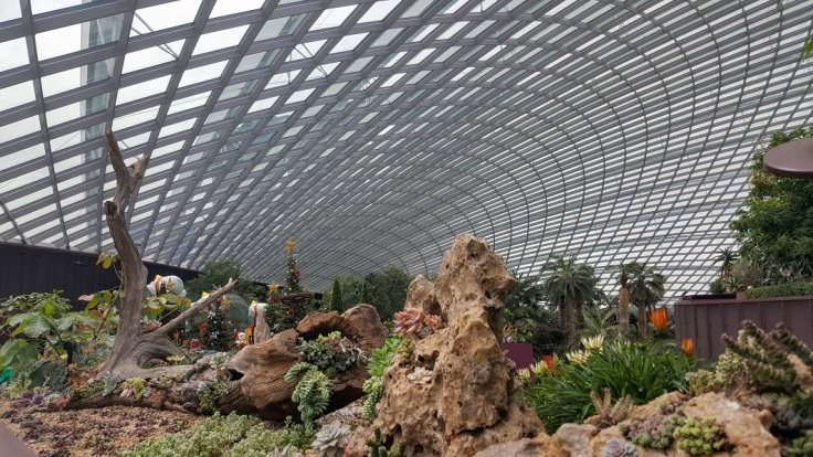 Flower dome full