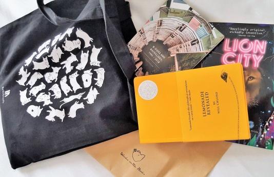 singapore bookstore haul